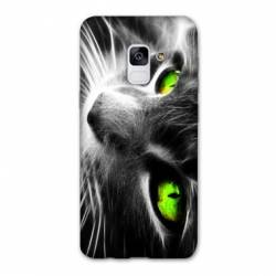 Coque Samsung Galaxy J6 PLUS - J610 Chat Vert