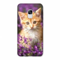 Coque Samsung Galaxy J6 PLUS - J610 Chat Violet