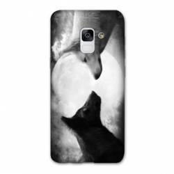 Coque Samsung Galaxy J6 PLUS - J610 Loup Duo