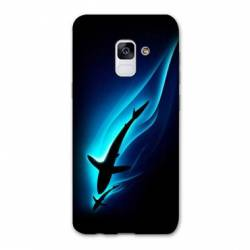 Coque Samsung Galaxy J6 PLUS - J610 Requin Noir