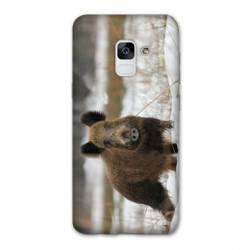 Coque Samsung Galaxy J6 PLUS - J610 chasse sanglier Neige