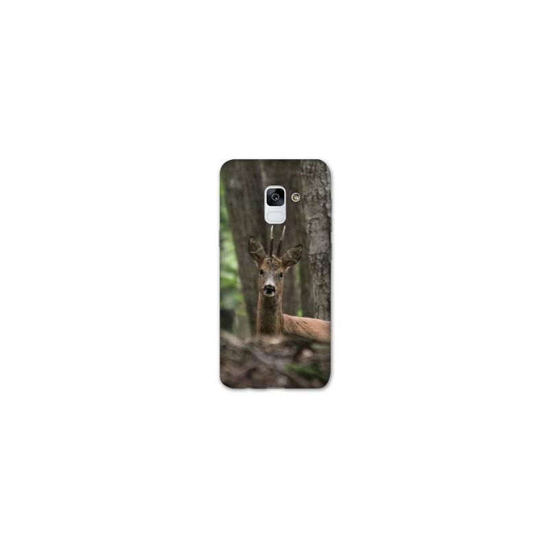 Coque Samsung Galaxy J6 PLUS - J610 chasse chevreuil Bois