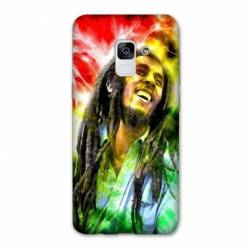 Coque Samsung Galaxy J6 PLUS - J610 Bob Marley Color