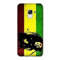 Coque Samsung Galaxy J6 PLUS - J610 Bob Marley Drapeau