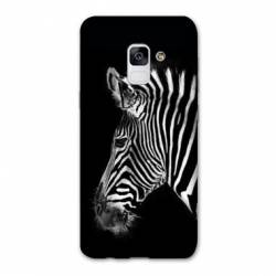 Coque Samsung Galaxy J6 PLUS - J610 savane Zebra