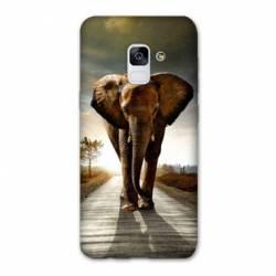 Coque Samsung Galaxy J6 PLUS - J610 savane Elephant route