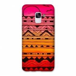 Coque Samsung Galaxy J6 PLUS - J610 motifs Aztec azteque soleil