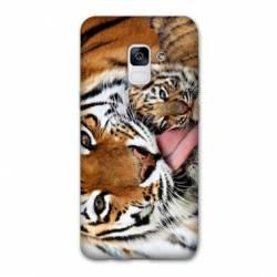Coque Samsung Galaxy J6 PLUS - J610 bebe tigre