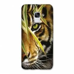 Coque Samsung Galaxy J6 PLUS - J610 œil tigre