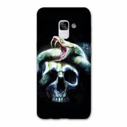 Coque Samsung Galaxy J6 PLUS - J610 serpent crane