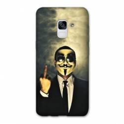 Coque Samsung Galaxy J6 PLUS - J610 Anonymous doigt