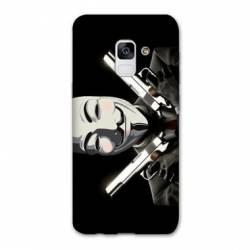 Coque Samsung Galaxy J6 PLUS - J610 Anonymous Gun
