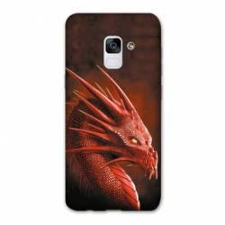 Coque Samsung Galaxy J6 PLUS - J610 Dragon Rouge