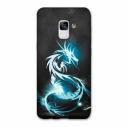 Coque Samsung Galaxy J6 PLUS - J610 Dragon Bleu