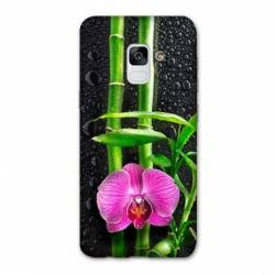 Coque Samsung Galaxy J6 PLUS - J610 orchidee bambou