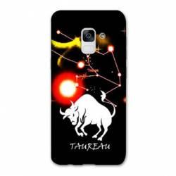 Coque Samsung Galaxy J6 PLUS - J610 signe zodiaque Taureau