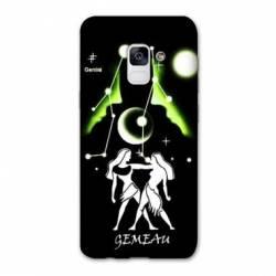 Coque Samsung Galaxy J6 PLUS - J610 signe zodiaque Gémeaux