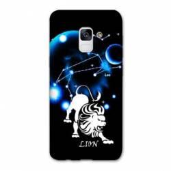 Coque Samsung Galaxy J6 PLUS - J610 signe zodiaque Lion