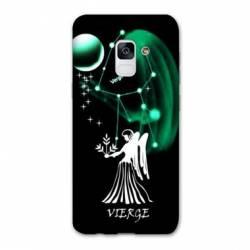 Coque Samsung Galaxy J6 PLUS - J610 signe zodiaque Vierge