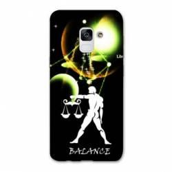 Coque Samsung Galaxy J6 PLUS - J610 signe zodiaque Balance