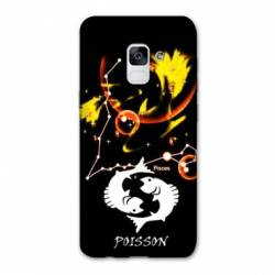 Coque Samsung Galaxy J6 PLUS - J610 signe zodiaque Poisson