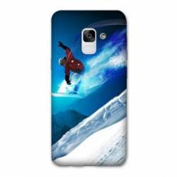 Coque Samsung Galaxy J6 PLUS - J610 Snowboard saut