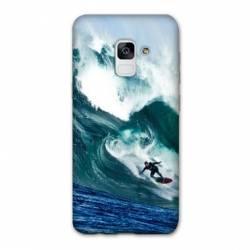 Coque Samsung Galaxy J6 PLUS - J610 Surf vague