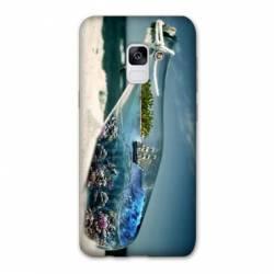 Coque Samsung Galaxy J6 PLUS - J610 Mer Bouteille