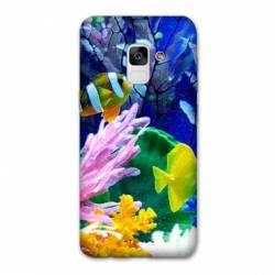 Coque Samsung Galaxy J6 PLUS - J610 Fond marin