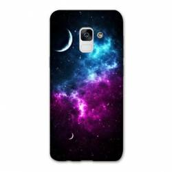 Coque Samsung Galaxy J6 PLUS - J610 Univers Bleu violet