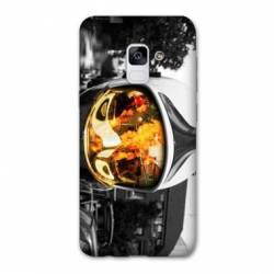 Coque Samsung Galaxy J6 PLUS - J610 pompier casque feu