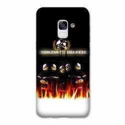 Coque Samsung Galaxy J6 PLUS - J610 pompier soldat