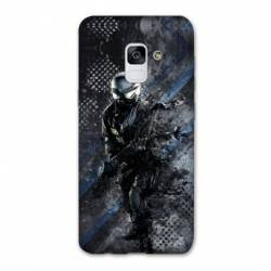 Coque Samsung Galaxy J6 PLUS - J610 police swat