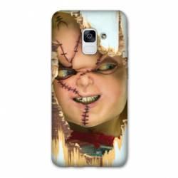 Coque Samsung Galaxy J6 PLUS - J610 Chucky Blanc