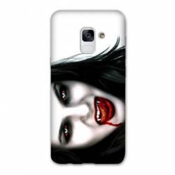 Coque Samsung Galaxy J6 PLUS - J610 Vampire blanc