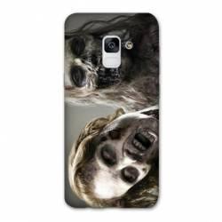 Coque Samsung Galaxy J6 PLUS - J610 Zombie blanc
