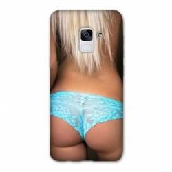 Coque Samsung Galaxy J6 PLUS - J610 Sexy tanga bleu