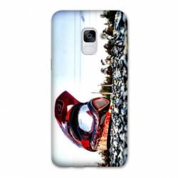 Coque Samsung Galaxy J6 PLUS - J610 Moto Casque Cross