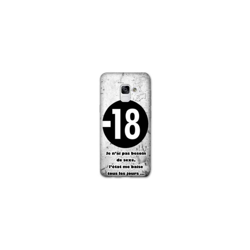 Coque Samsung Galaxy J6 PLUS - J610 Humour 18 ans