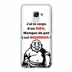 Coque Samsung Galaxy J6 PLUS - J610 Humour Bouddha