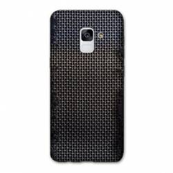 Coque Samsung Galaxy J6 PLUS - J610 Texture metal