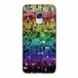 Coque Samsung Galaxy J6 PLUS - J610 Texture mosaique