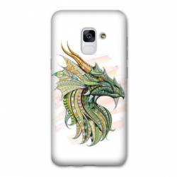 Coque Samsung Galaxy J6 PLUS - J610 Ethniques Dragon Color