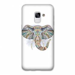 Coque Samsung Galaxy J6 PLUS - J610 Ethniques Elephant Color B