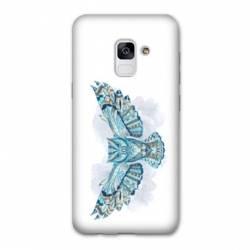 Coque Samsung Galaxy J6 PLUS - J610 Ethniques Hibou B