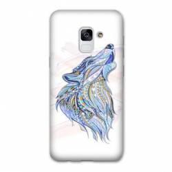 Coque Samsung Galaxy J6 PLUS - J610 Ethniques Loup Color