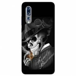 Coque Wiko View 3 tete de mort family business