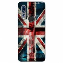 Coque Wiko View 3 Angleterre UK Jean's