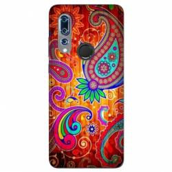 Coque Wiko View 3 fleur psychedelic