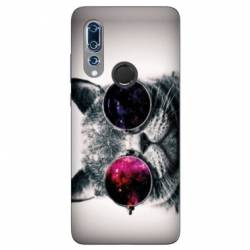Coque Wiko View 3 Chat Fashion